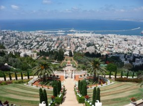 Gärten in Haifa